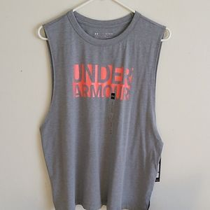 Under armour muscle tee shirt